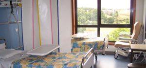 Chambre double service hospitalisation