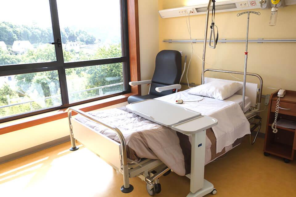 Chambre hospitalisation seule