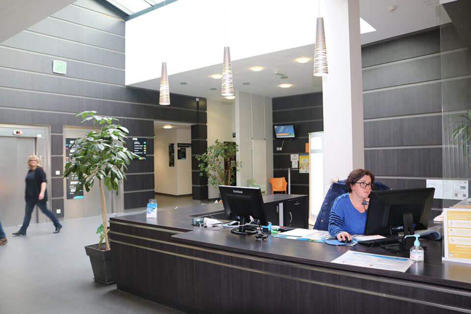 Equipe administrative Polyclinique Bretagne