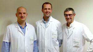 équipe des chirugiens digestives et viscérales de Dinan