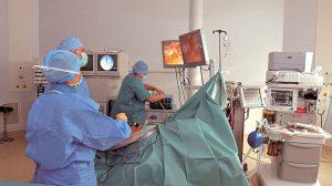 Intervention en bloc opératoire