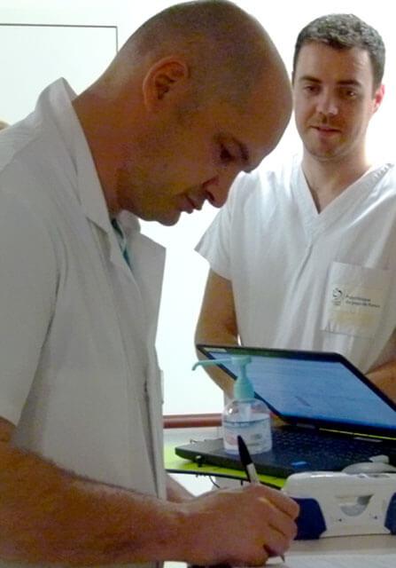 Prescriptions médicales en hôpital