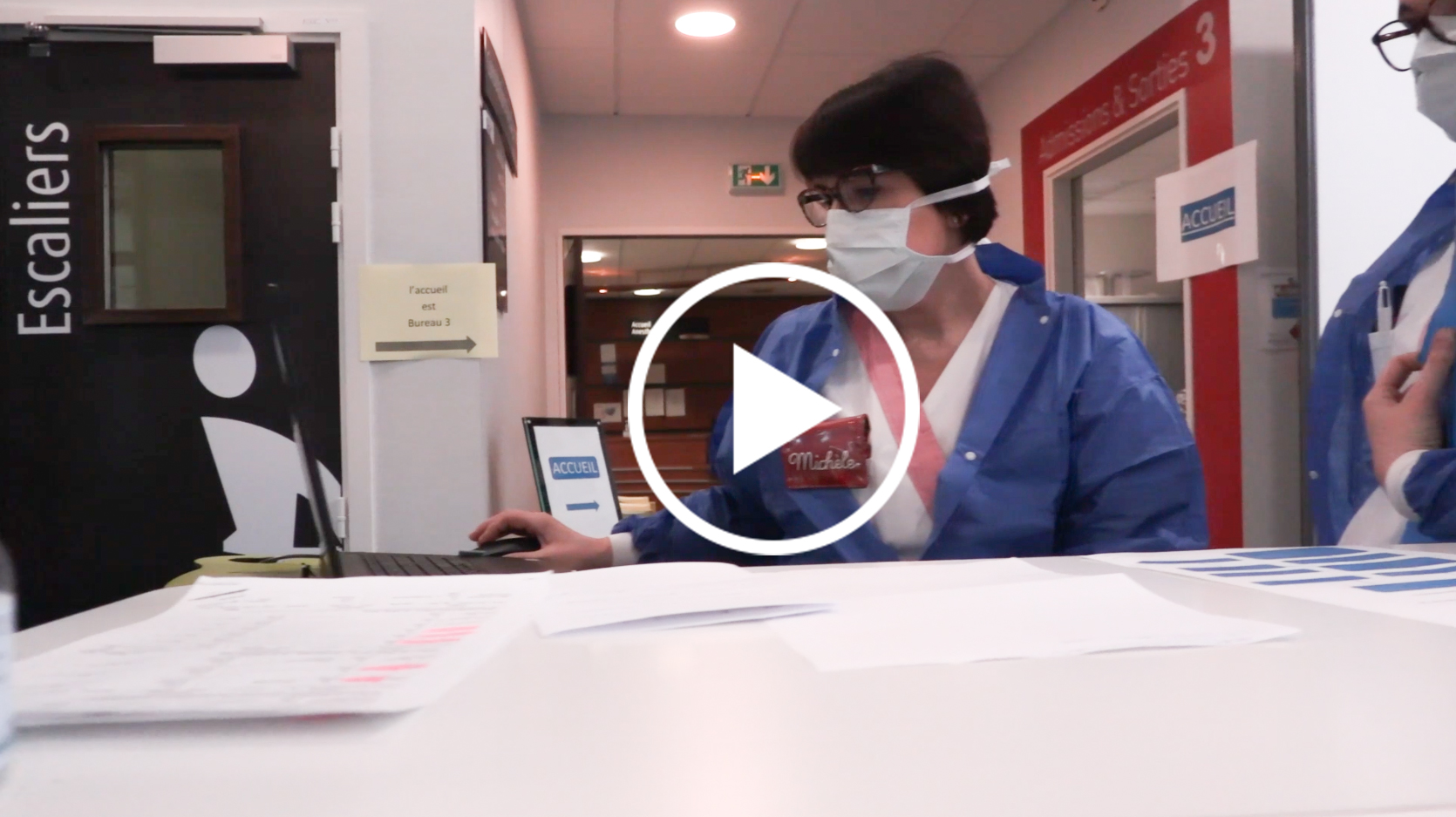 Le fonctionnement de la clinique à l'heure du COVID-19, expliqué en vidéo