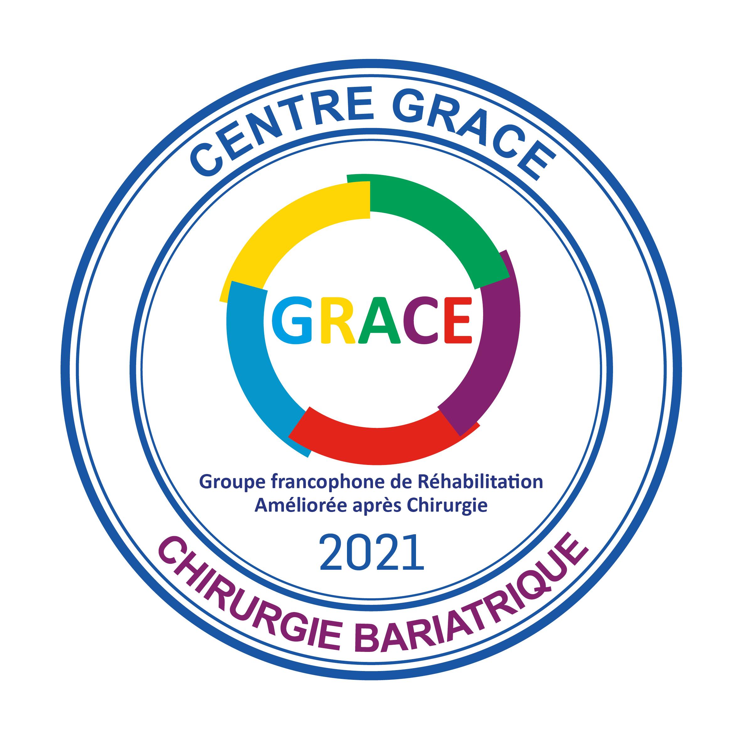 La Clinique renouvelle son label GRACE pour la chirurgie Bariatrique